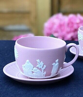 Wedgwood Jasperware Tea Cup With A/F And With No Saucer • 26.95£
