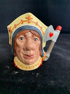 ROYAL DOULTON SMALL CHARACTER JUG The Red Queen • 5.50£
