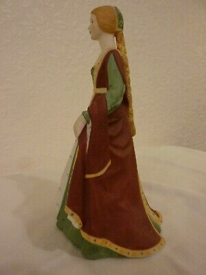 Franklin Porcelain Isabella Of Spain Limited Edition Figurine With Certificate • 10£