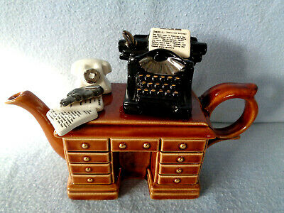 ** Mysterious  Murder At The Grange  Crimedesk Cardew Teapot ** Excellent Con ** • 24.99£