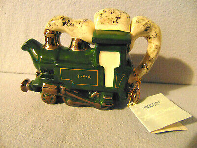Superb & Delightful Very Rare Steam Engine Carter Teapot ** Excellent Condition • 19.99£