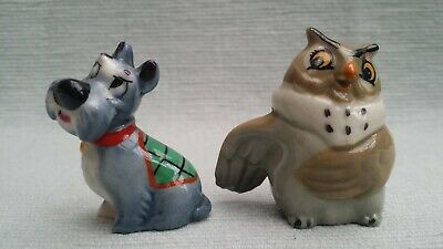 2 Disney Wade Whimsies; Mama From Fox And The Hound + Jock Lady And The Tramp • 6£