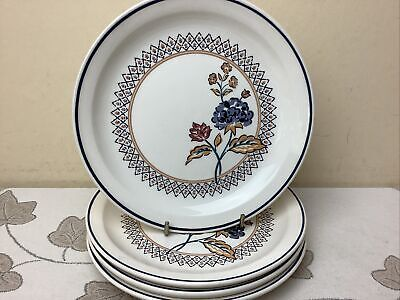 Boots Camargue 4 X Side Plates Lovely Condition 17.50cm • 14.99£
