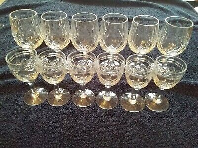 Cut Glass Royal Brierley Nice For Xmas . • 10£