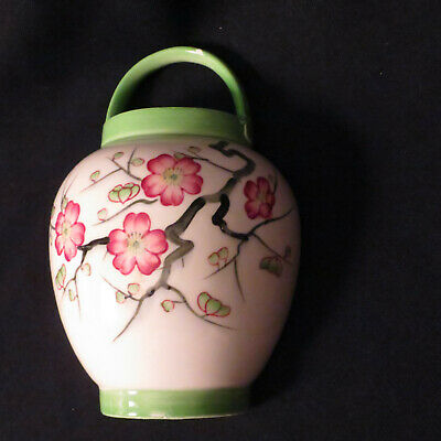 Vintage Wall Pocket Hand-painted Japanese Design • 16.86£