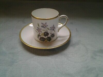 Royal Worcester  Coffee Cup And Saucer • 3£