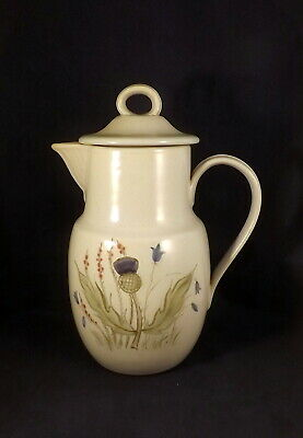 Buchan Portobello Large Lidded Water Jug - Thistle & Bluebell (Scotland) • 15£