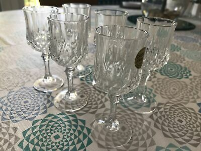 6x  Lead Crystal Sherry/port Glasses Excellent Condition • 3.20£
