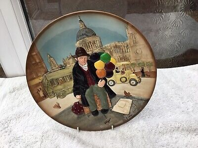 Royal Doulton Plate 'the Balloon Seller' Vgc • 2.99£