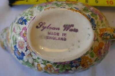 Vintage Sylvan Ware Small Sauce Boat. Good Condition Postage Included  • 12.99£