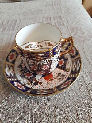Royal Crown Derby Amari Moustache Cup And Plate  • 100£