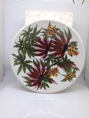 Jersey Pottery Large Hand Painted Bowl • 10£
