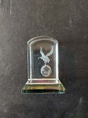 Etched Crystal Cube (small) Pegasus • 1.30£