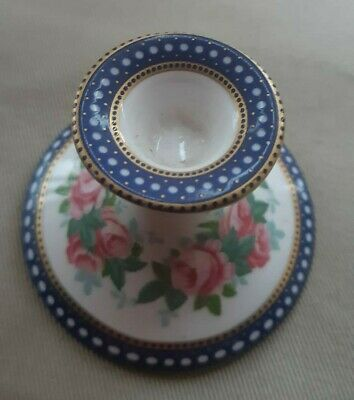 Spode Floral Candle Holder Fine Bone China England Pretty Design Collectable  • 4.99£