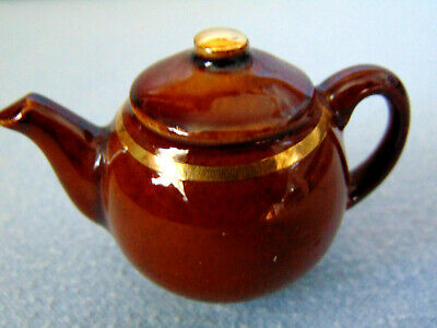 ** Lovely Rare Brown Betty Tiny Cardew Teapot ** In Mint Condition ** • 5.99£