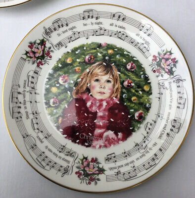 Royal Doulton Christmas Carols Wall Plate 1983 Silent Night 21 Cms In Diameter • 8.50£