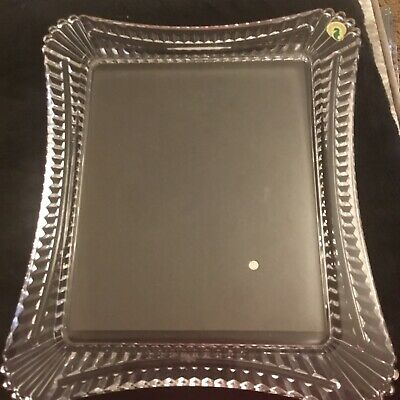 Waterford Portraits Wellesley 8 X 10inch Crystal Photo Frame Back Missing .. • 32£