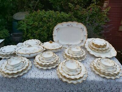 Royal Crown Derby Royal St James Dinner Service 1st & 2nd Quality • 800£
