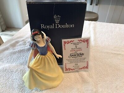 Royal Doulton  Snow White From The Disney Princess Collection HN3678 LTD EDITION • 50£