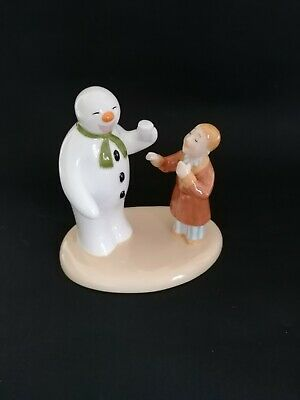 Coalport Snowman Figure Toothy Grin. Boxed Limited Edition • 38£