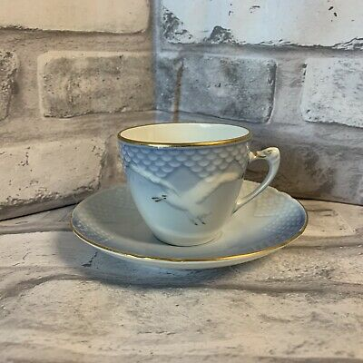 Bing & Grondahl Seagull Demitasse Cup And Saucer Denmark 463 • 12.98£