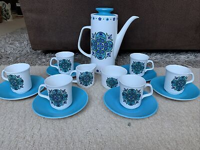 Vintage J&G Meakin Blue Tea Set  • 25£