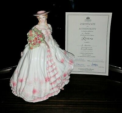 Coalport ROSE  The Four Flowers  Collection Limited Edition • 185.99£