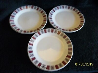 J & G Meakin Studio Celebrity Side Plates X 3 • 6£