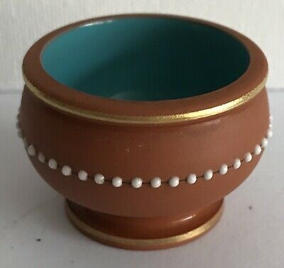Watcombe Torquay Terracotta Salt Cellar • 5£