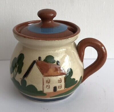 Watcombe Torquay Pottery Cottage Ware Mustard Pot • 2.90£