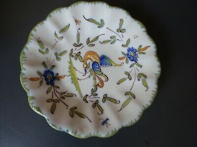 Faience Pottery Plate Martres Tolosane • 9£
