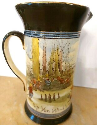Royal Doulton Series Ware  Rip Van Winkle  Much The Flavour Of Hollands, Jug. • 25£
