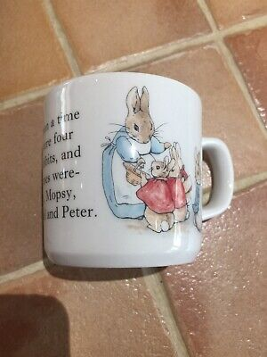 Wegdewood Peter Rabbit Cup/mug • 3.50£