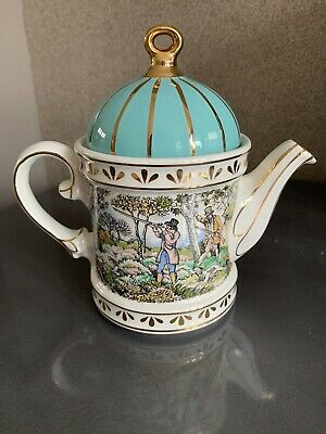Sadler Collectable Teapot Sporting Scenes Of The 18th Century 'Shooting' • 7.50£