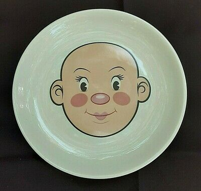 Plays With His Food Dinner Plate By Fred 7.5  Ceramic Plate Picky Eater • 8.55£