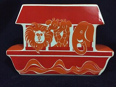 Vintage Carlton Ware Noah's Ark Children's Moneybox -excellent Condition • 11.95£