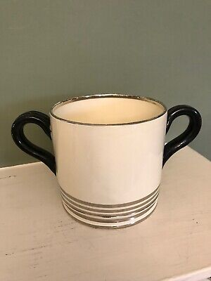 Gray's Art Deco 2-handled Mug Or Lovers' Cup Made For George V's Silver Jubilee • 24£