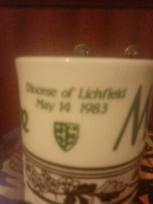 Mayfire Diocese Of Lichfield 1983.Commemorative Cup. • 15£