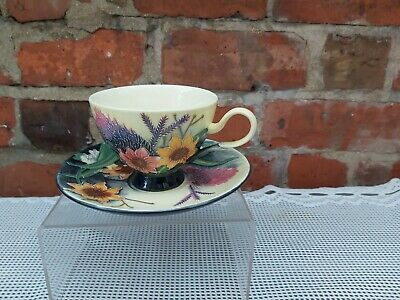 Old Tupton Ware Hand Painted Tea Cup And Saucer • 25£
