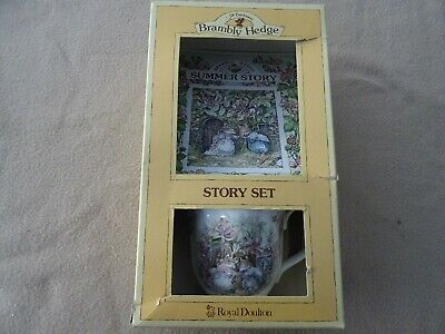 RARE Brand New In Box Brambly Hedge Summer Story Set • 39.99£