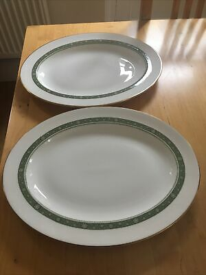 Royal Doulton Rondelay Oval Serving Plates X2  • 18£