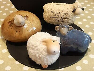 Family Of Sheep ..1 Being A Money Box • 10£