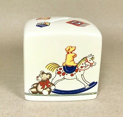 1992 Retired Tiffany & Co.  Tiffany Toys  Children's Porcelain Coin Bank ~ MINT! • 23.41£