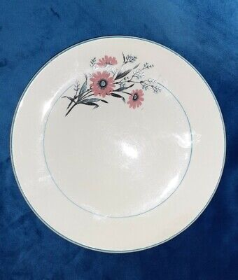 Rare,Beautiful George Clews & Co Ltd Set Of 4 Side Plates Blue Floral Pattern • 12£
