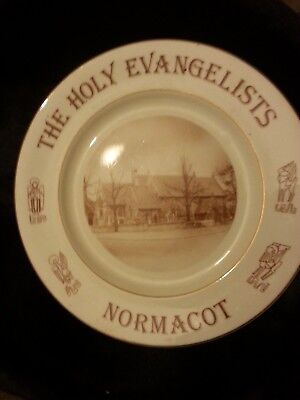 The Holy Evangelists Church Normacot Stoke-on-Trent.Commemorative Plate. • 25£