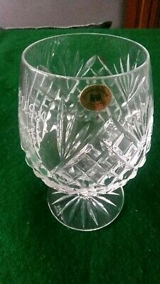 Tyrone Crystal Brandy Glass - Engrave MUSA Winners 1997 • 0.99£