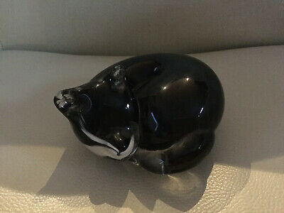 Langham Resting Glass Fox. Paper Weight. Pre Owned  • 15£