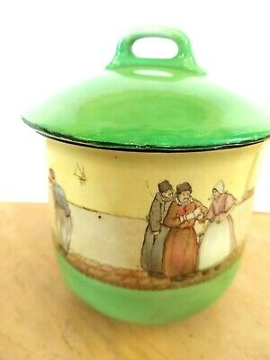 Royal Doulton Series Ware, Dutch A - Harlem   Biscuit Barrel  McVitie  And Price • 14£