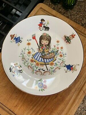 ARKLOW Republic Of Ireland Nursery Rhyme Child's China Plate 7.75  • 5.98£
