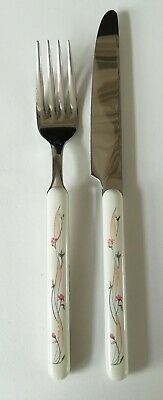 Eternal Beau Knife And Fork - Viners Cutlery • 15.50£